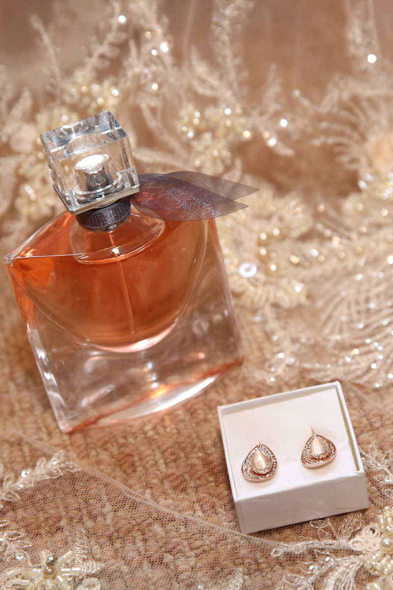 Earrings and Perfume
