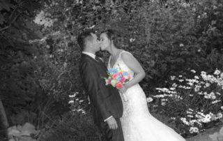Bride Amanda and Groom Shane