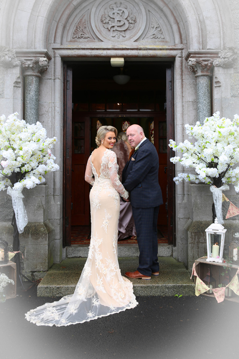 Bride Eilish & her father