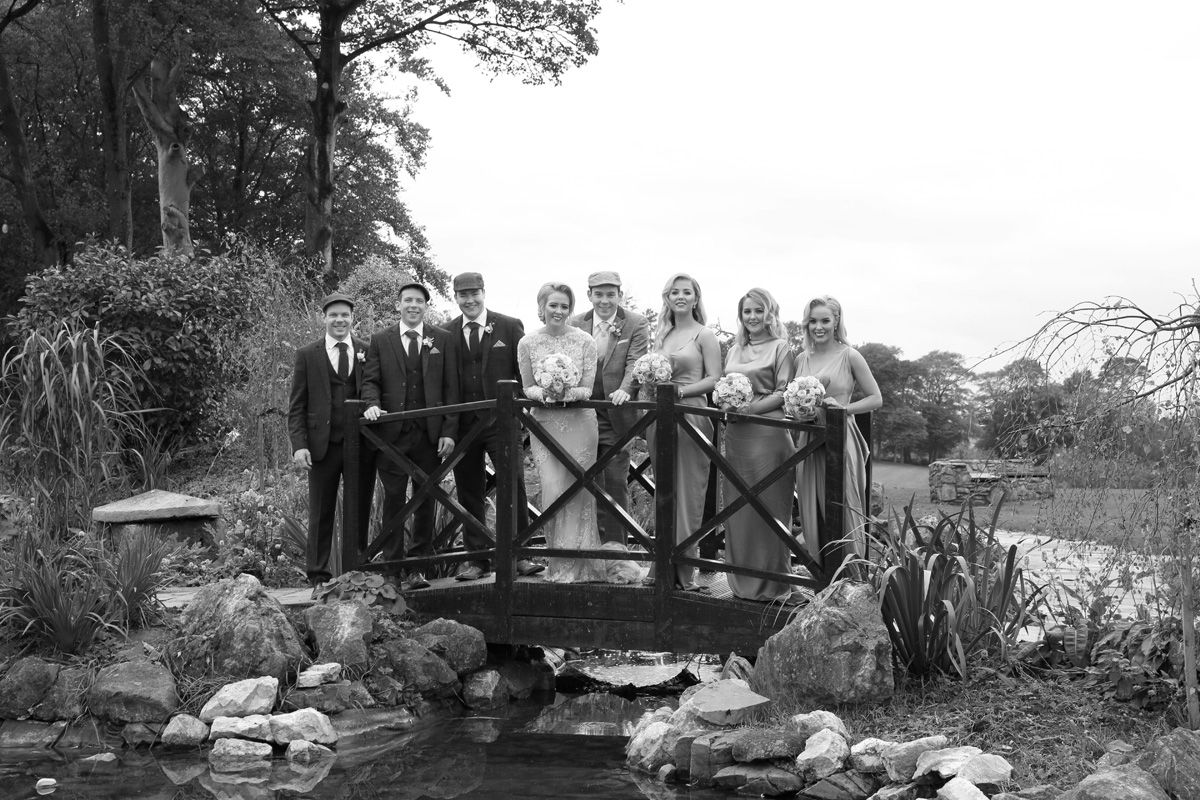 Bride Eilish, Groom Seamus and Bridal Party