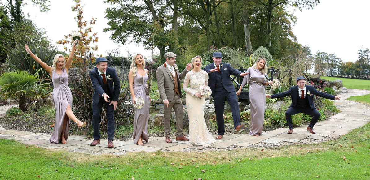Bridal Party at Eilish & Seamus Wedding
