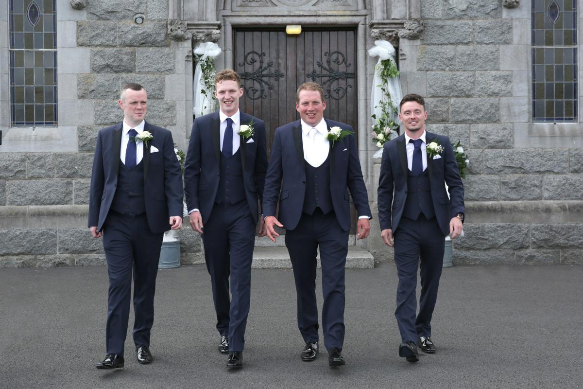 Groom & best men
