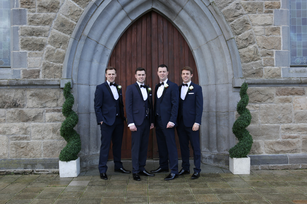 Groom and Best-men