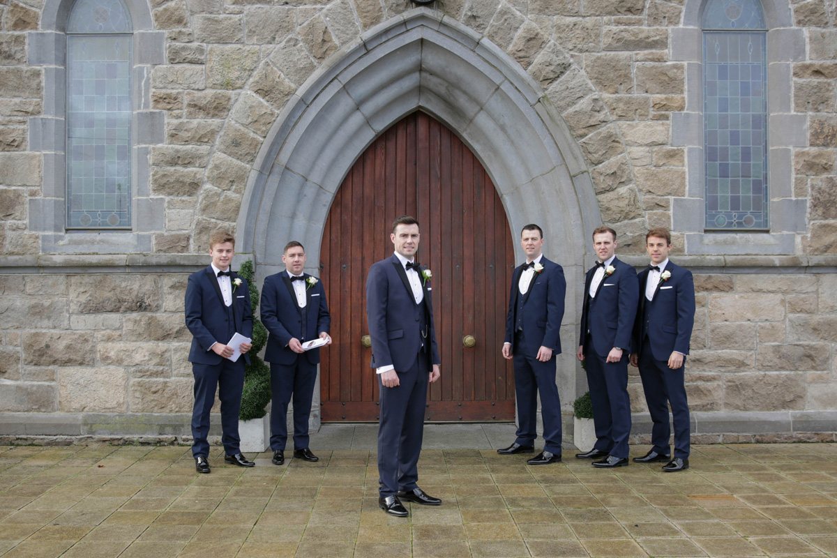 Groom, Bestmen and Ushers